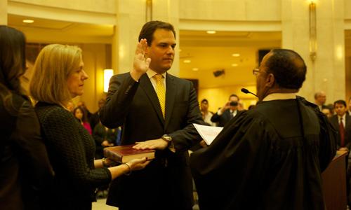 Eddie fern ndez sworn in as orange county clerk of courts hccmo blog - Orange county clerk s office ...